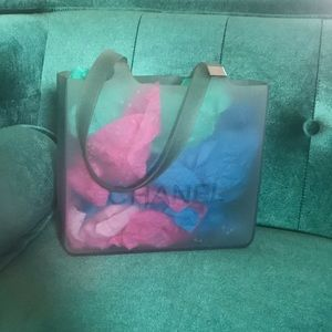 Chanel jelly tote